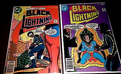 Black Lightening. Lot of (2) #'s 4 and 5. Nice condition.