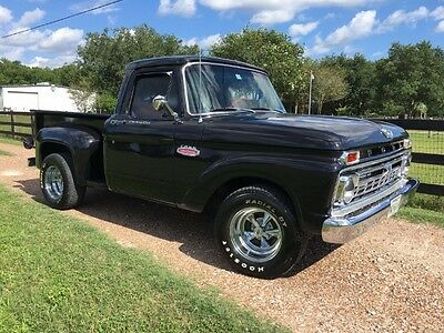 1966 Ford F-100  1966 Ford F100 Pickup - Immaculate Resto, 352ci , 3 speed, Disc, Wood Bed