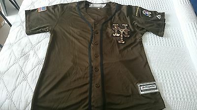 New York Mets Adult Medium MLB Baseball Jersey