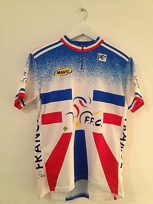 """Maillot Cycliste """"EQUIPE de FRANCE"""" Taille 4"""