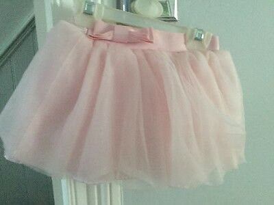 Ted Baker pale pink tutu skirt with bow age 18-24 months