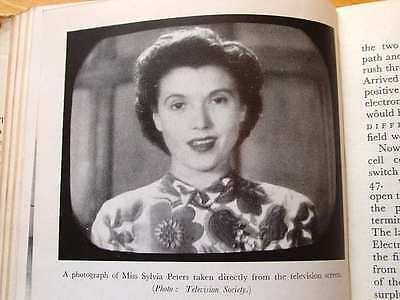 Television Simply Explained 50S Book With Early Tv Technology Photos Tvs Screens