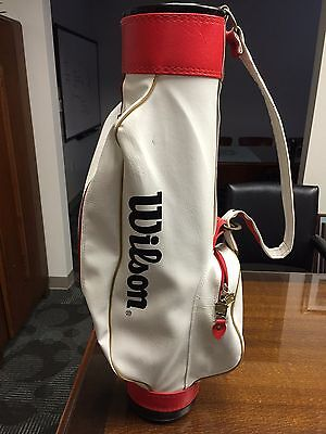 """Very Rare, Vintage, Wilson Staff """"Professional"""" Junior  Golf Bag, 31 inches tall"""