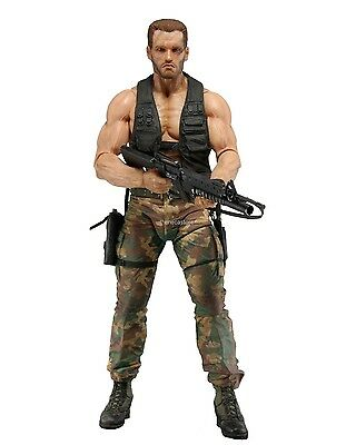 "Predator - 7"" Scale Action Figure - 30th Anniversary Jungle Encounter Dutch NECA"