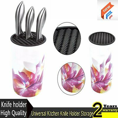 Universal Kitchen Knife Block Knives Holder Storage Modern Knife Block Storage