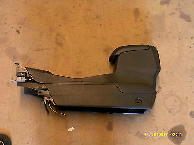 ford fiesta mk9 new shape centre consol arm rest 2013-17