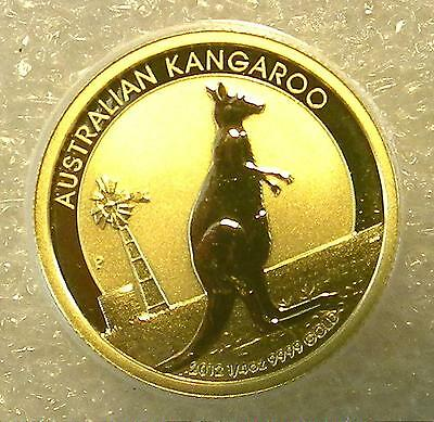 2012 Australian Lunar Year of KANGAROO $25 Gold  Coin 1/4 oz Australia