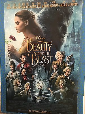 Beauty And The Beast 27X40 Signed Movie Poster