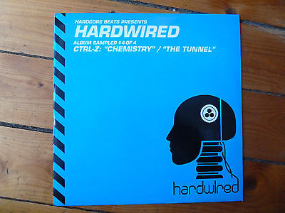 "CTRL-Z - Hardwired Sampler 4/4 12"" Breaks 2006 Hardcore Beats"
