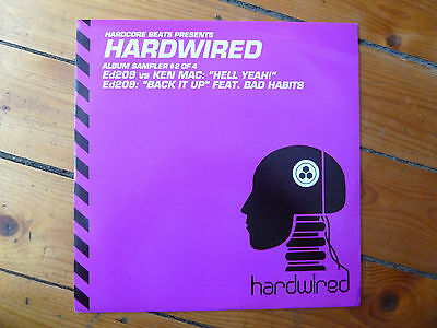"Ed209 vs. Ken Mac - Hardwired Sampler 2/4 12"" Breaks 2006 Hardcore Beats"