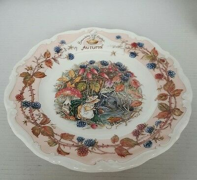 Royal Doulton Bramley Hedge Plate Summer