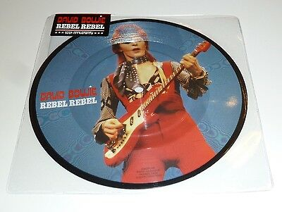 """David Bowie Rebel Rebel 40th Anniversary 7"""" Vinyl Picture Disc Sealed Mint 5"""
