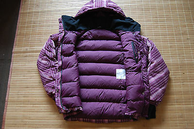Bergans of Norway DYNA 650 Down Jacket Women's size S Puffa Genuine Hiking