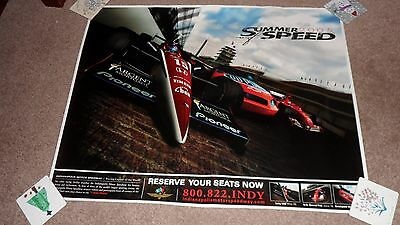 Indianapolis Motor Speedway. Summer of Speed.2005. Poster. VGC.