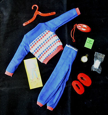 Vintage Barbie Ken 1965 Fashion  Off To Bed  NMint & Complete  RARE!!