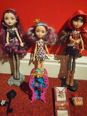 Ever after high rebel dolls
