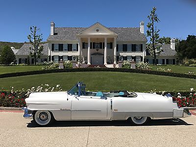 1954 Cadillac Eldorado  A Beautiful 1954 Cadillac El Dorado Convertible with Continental Kit & Parade