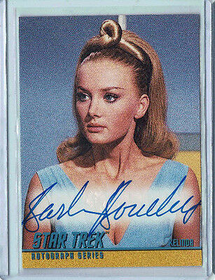 Star Trek The Original Series Autograph Card A54 Barbara Bouchet as Kelinda