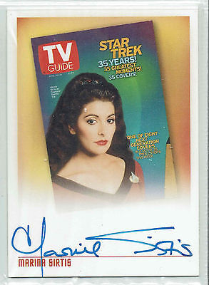 The Quotable Star Trek The Next Generation TVA1 Marina Sirtis/TV Guide Troi