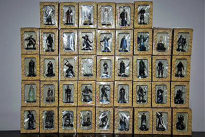 42 Eaglemoss lord of the Rings Figures