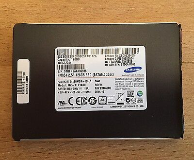 "Samsung 128GB SSD PM871 SATAIII 6.0Gbps, 2.5"" 7mm"