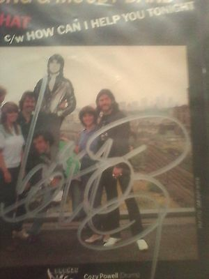 """GENUINE hand signed by Lemmy The Young & Moody band 'dont do that' 7"""" vinyl reco"""