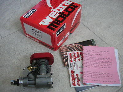 Webra Speed 35 Competition Helicopter Engine 2 Stroke New BNIB