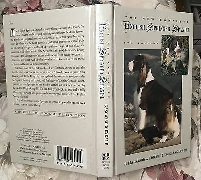 New Complete English Springer Spaniel 1994 Hunting & Breed dog book