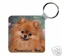 Pomeranian    Personalized  Breed  Key  Chain