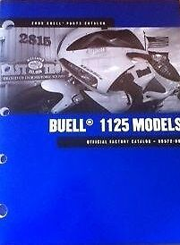 Buell 1125 Models (2009) Parts Catalogue