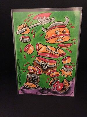 Garbage Pail Kids Sketch By Brent Engstrom Awesome Detail!!
