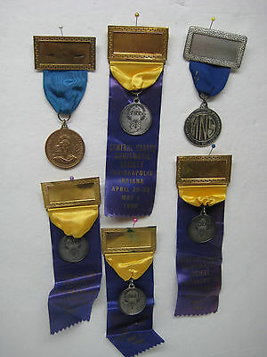 Numismatic Convention Medal Badge Lot of 6 - 1960s and 1970s