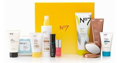 No7 Summer Selection Cosmetics Sun Lotion Gift Set Over Boxed & Brand New