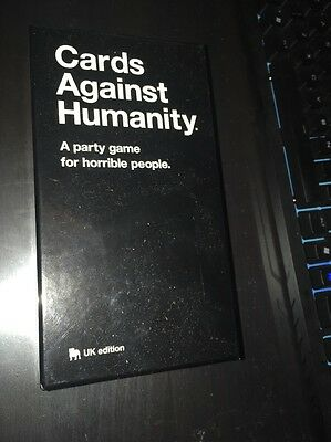 Cards Against Humanity UK edition - Party Game For Horrible People