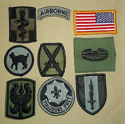 US Military Patches - Wide Variety Including Shoulder Insignia, Rank & Awards 08