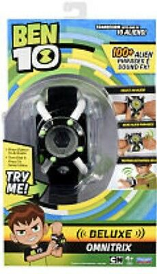 BEN 10 Electronic Deluxe Omnitrix Wrist Roleplay 100+ Phrases & Sounds Authentic