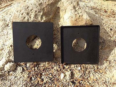 4x5 Graflex Speed Graphic  NEW Copal #0 #1 #3 Lens Board High Quality