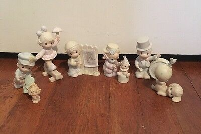 Lot Of 8 Precious Moments Sammy's Circus Figures No Boxes EUC