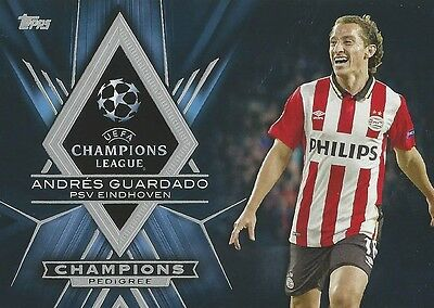 2015-16 Topps Uefa Champions League Showcase Psv Eindhoven 9 Card Team Set