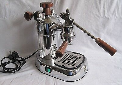 LA PAVONI PROFESSIONAL PLH LUSSO COFFEE MACHINE. 16 CUP. 1000watt 230v.