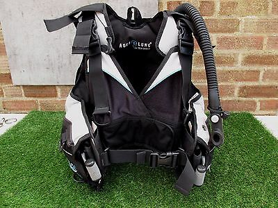 Ladies Aqualung Pearl Bcd With Surlock Intergrated Weight Pockets Size Small