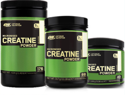 Optimum Nutrition ON Pure Micronized Creatine Powder- Unflavoured all sizes