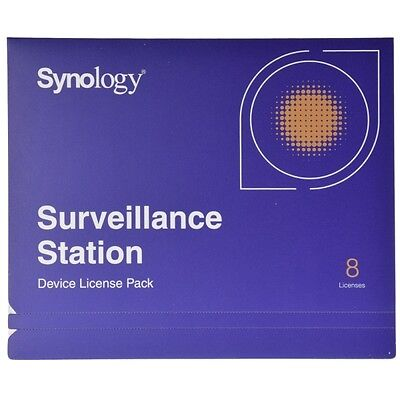 Synology IP Camera 8 License Pack Kit for Surveillance Station