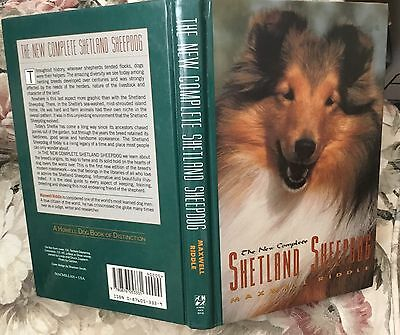 The New Complete Shetland Sheepdog dog book Maxwell Riddle 1991