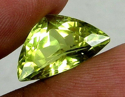 WOW 7.1cts AAA+ Super Top Quality Natural Yellow Kunzite gemstones NR$