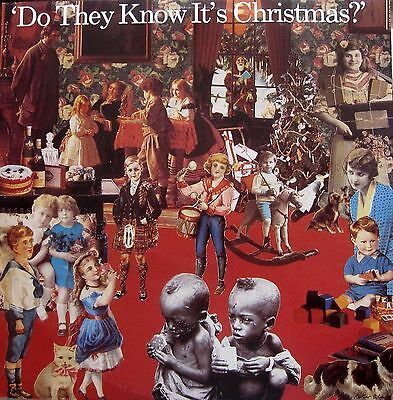 """Band Aid. Do They Know It's Christmas. 12"""" Vinyl"""