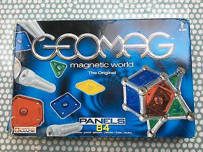 Geomag Magnetic World The Original Panels 84 In Silver