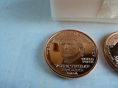 2016 Roll Of 20 Trump Coins