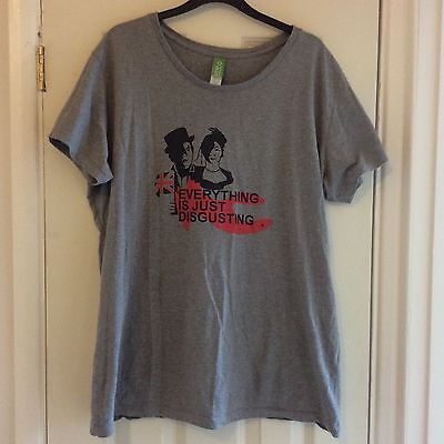 The Indelicates Band Tshirt 'everything Is Just Disgusting' 3xl