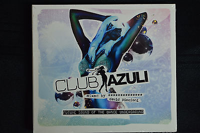 Club Azuli - Future sounds of the Dance Underground  CD New and sealed (B1)